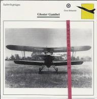 Vliegtuigen.- Gloster Gambet - Jachtvliegtuigen. -  Groot-Brittannië - Vliegtuigen