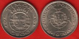 Portuguese Timor 5 Escudos 1970 Km#21 UNC - Timor