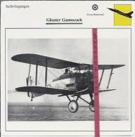 Vliegtuigen.- Gloster Gamecock - Jachtvliegtuigen. -  Groot-Brittannië - Vliegtuigen