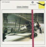 Vliegtuigen.- Gloster Gladiator - Jachtvliegtuigen. -  Groot-Brittannië - Vliegtuigen