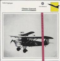Vliegtuigen.- Gloster Gorcock - Jachtvliegtuigen. -  Groot-Brittannië - Vliegtuigen