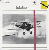 Vliegtuigen.- Hawker Demon - Jachtvliegtuigen. -  Groot-Brittannië - Vliegtuigen