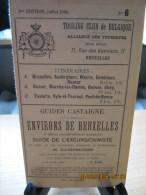 ITINERAIRE TCB N°6 A: BRUXELLES, AUDERGHEM, WAVRE, GEMBLOUX, NAMUR B: NAMUR, MARCHE-les-DAMES, GESVES, OHEY C: EVELETTE, - Cartes