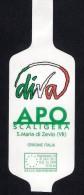 # KIWI DIVA APO SCALIGERA VERONA ITALY Fruit Tag Balise Etiqueta Anhänger Cartellino Fruit Fruits - Fruits & Vegetables