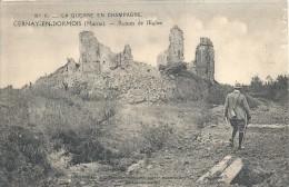 CHAMPAGNE ARDENNE - 51 - MARNE - CERNAY EN DORMOIS - Ruines De L'Eglise - France