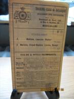 ITINERAIRE TCB N°71 A: MALINES, LOUVAIN, NAMUR B: MALINES, GRAND-ROSIERE, LIERNU, NAMUR - Autres