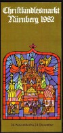 Germany Nürnberg Christkindl Markt 1982 / Christmas / Brochure Prospectus Prospect Booklet Pamphlet - Programma's