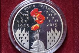Ukriane  5 Hryven 2015 70 Years Victory (Peremoga) - Ucrania