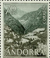 Andorra 061 ** Prados. 1963 - Ongebruikt