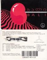 GEORGIA - Bali Promotion Prepaid Card, Used - Georgia
