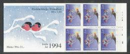 FINLANDE - 1994 - CARNET  YT C1240a - Facit H26 - Neuf ** MNH - Noël - Finlande
