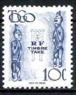 TOGO 1947 (**) - Mi. 38, Taxe | Images Of Gods | Statues - Idols - Unused Stamps