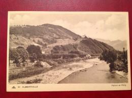 73 Savoie Cpa ALBERTVILLE Pallud Et L'Arly - Albertville