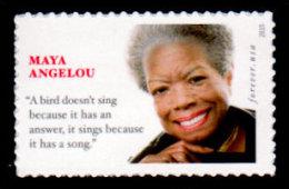 USA, 2015 Scott #4979, Maya Angelou, Forever Single, MNH, VF - Unused Stamps