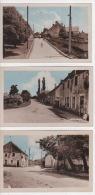 58 - 3 CPA - COURS PRES DE COSNE SUR LOIRE - RUE VILLIPREVERIN  RUE ST LOUP ET GRANDE RUE - Cosne Cours Sur Loire
