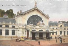Liège - Gare Des Guillemins - Edition J. Chapelier - Carte Colorisée, Non Circulée - Liege