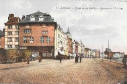Liège - Quai De La Batte - Ancienne Maison - Edition J. Chapelier - Carte Colorisée, Non Circulée - Liege
