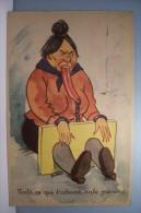 BUDOU   --- Voila Ce Qui T'attend - HUMOUR- MEGERE - Illustratori & Fotografie