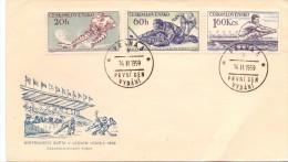 CZECHOSLOVAKIA HOCKEY PRAHA 1959  (F160011) - Hockey (su Ghiaccio)