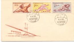 CZECHOSLOVAKIA JAVELIN THROW PRAHA 1959  (F160012) - Francobolli