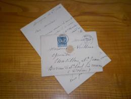 LAC 1884 De Bourgoin Isère Sur 15 C Type Sage - Marcophilie (Lettres)