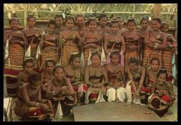 ASIA - TIMOR - Raparigas De Viqueque ( Ed. C. T. I. De Timor) Carte Postale - Timor Orientale