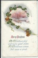 BN528 - BUON NATALE - CAMPANA -  BELL - CLOCHE  - F.P..- VIAGGIATA USA 1918 - Noël