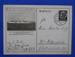 Postal Stationary, MS Königin Luise, Helgoland, Deutsches Reich - Bateaux