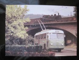 CPM N°76 Trolley Bus Type VA3B2 N 151 à La Silardière Le 21/07/74 - Autobús & Autocar