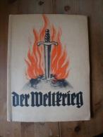 Sammelbilderalbum Der Weltkrieg 1933 (Erster WK) Immalin-Werke Mettmann  !! - Sammelbilderalben & Katalogue