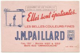 BUVARD GOUACHES J.M. PAILLARD - Non Classificati