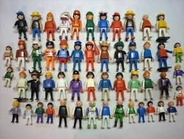 GROS Lot De PLAYMOBIL  DE 38 PERSONNAGES  ET 14 ENFANTS  ( Voir  5 Photos Et Descriptif ) - Playmobil