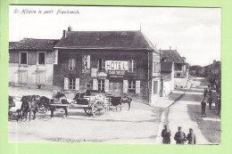 SAINT HILAIRE LE PETIT FRANKREICH : Hôtel, Bel Attelage. 2 Scans. Edition Lange - France
