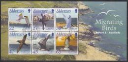 Alderney MiNr. Bl. 14 O Zugvögel: Seevögel - Alderney