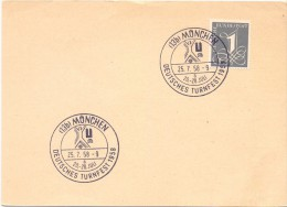 MUNCHEN TURNFEST 1958  (F160048) - Giochi Olimpici