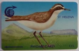 ST HELENA - GPT - £15 - 3CSHC - Wirebird - Mint - St. Helena Island