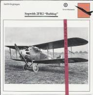 Vliegtuigen.- Sopwith 2FR2 - Bulldog - Jachtvliegtuigen. -  Groot-Brittannië - Vliegtuigen
