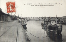 CPA - 76 - DIEPPE - Travail De La Drague Dieppe III - Dieppe