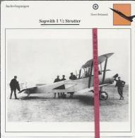 Vliegtuigen.- Sopwith 1 1/2 Strutter - Jachtvliegtuigen. -  Groot-Brittannië - Vliegtuigen