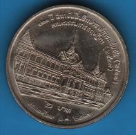 THAILANDE 2 BAHT 2537 (1994) Council Of State Y# 294 - Thaïlande