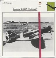 Vliegtuigen.- Reggiane Re.2005 - Sagittario - Jachtvliegtuigen. -  Italië - Vliegtuigen