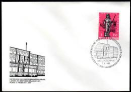 ÖSTERREICH 1981 - Eröffnung Feuerwehrkommando Linz - Sonderausgabe - Feuerwehr