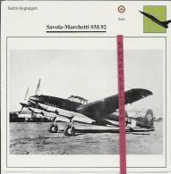 Vliegtuigen.- Savoia-Marchetti SM.92 - Jachtvliegtuigen. -  Italië - Vliegtuigen