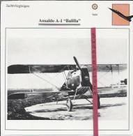 Vliegtuigen.- Ansaldo A-1 - Balilla - Jachtvliegtuigen. -  Italië - Vliegtuigen