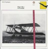 Vliegtuigen.- Fiat CR.1 - Jachtvliegtuigen. -  Italië - Vliegtuigen