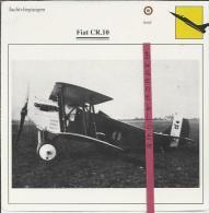 Vliegtuigen.- Fiat CR.10 - Jachtvliegtuigen. -  Italië - Vliegtuigen