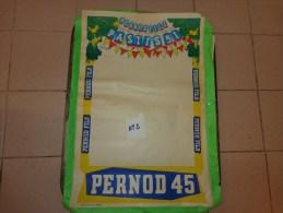 Affiche  Papier Pernod Fils- -pastis 51 -pernod 45     39.5cm X 59.5 Cm Illustrateur Bellange - Publicité
