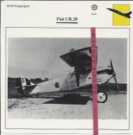 Vliegtuigen.- Fiat CR.20 - Jachtvliegtuigen. -  Italië - Vliegtuigen