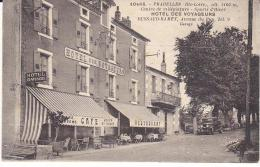 """Haute-Loire 43 PRADELLES CPA 10486 Hotel Des Voyageurs DUSSAD-RAMEY - Série """" Lema """" - France"""