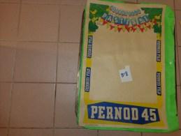 Affiche  Papier Pernod Fils -pastis 51 -pernod 45 -    39.5cm X 59.5 Cm Illustrateur Bellange - Publicité